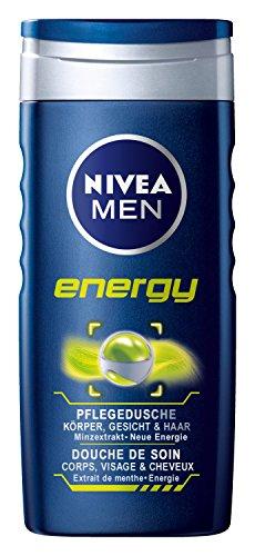 Nivea Men Energy Pflegedusche Duschgel, 4er Pack (4 x 250 ml)