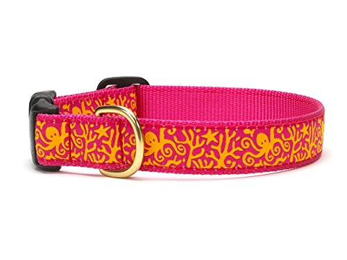 """Up Country Under the Sea Dog Collar (L (15-21""""); Wide 1"""")"""