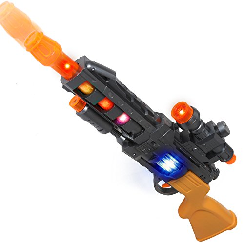 AKOi スペースサブマシンガン 光銃 音銃 おもちゃ サバイバルゲーム ボーイズギフト