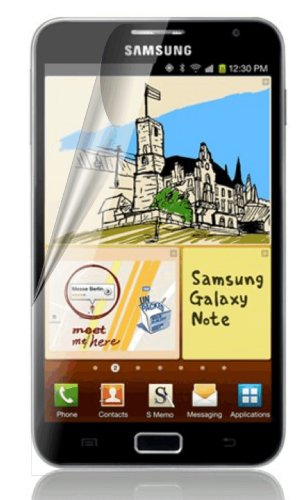 Samsung GALAXY NOTE N7000 (International Version With Home Button Only)XtremeGUARD Screen Protector (Ultra CLEAR)(XTREMEGUARD Packaging) Fits N7000 ONLY