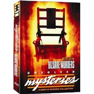 Unsolved Mysteries : Bizarre Murders : 15 Episode Box Set :Colorado Cop Killers , Boston Strangler ,Texas Most Wanted , Trailer Terror , Bad Chief , Marie Hilley , Journalist's Murder , Scared to Death , Murdered Heiress , Unicorn's Secret , Women's Prison Killing , Skull Duggery , Backyard Bones , World Leaders , Burning Bed : Over 4 Hours