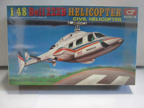 IDEA Bell 222B Civil Helicopter 1/48