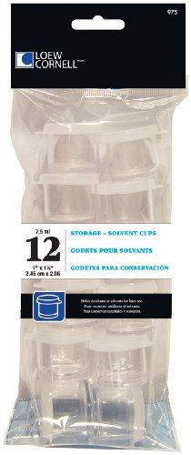 Loew-Cornell 975, 1 Inch Storage Cups, 12 Count