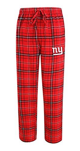 (Concepts Sport New York Giants NFL Ultimate Goal Men's Flannel Pajama Pants)