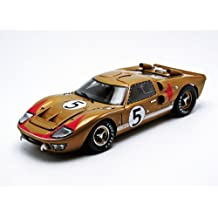 1966 Ford GT-40 MK 2 Gold #5 1/18 by Shelby Collectibles 403