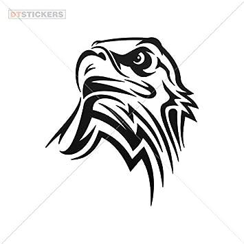 amazon decal vinyl eagle doors motor car window jet ski 10 x 9 Eagle Mascot Clip Art amazon decal vinyl eagle doors motor car window jet ski 10 x 9 07 in vinyl color black automotive