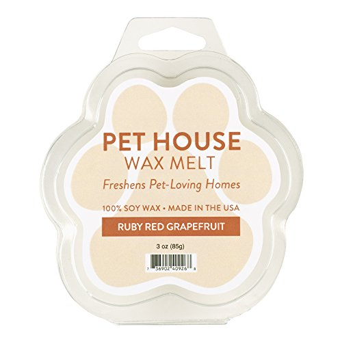 One Fur All Pet House Wax Melts by, Pack of 2 - Ruby Red Gra