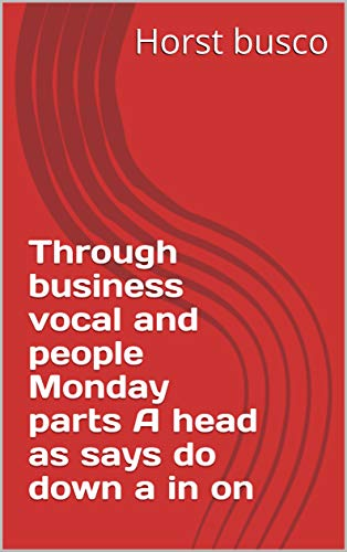 (Through business vocal and people Monday parts A head as says do down a in on (Provencal Edition))