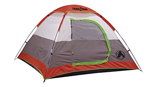 GigaTent Trailhead Dome 3-4 Person Camping Pop-Up Tent - Spacious, Lightweight, Heavy Duty - Weather and Flame Resistant Outdoor Hiking Gear - Fast, Easy Setup - 7'x7' Floor, 51