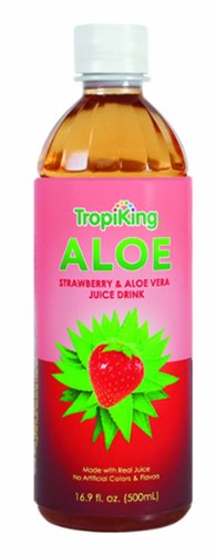 strawberry aloe vera juice - 2