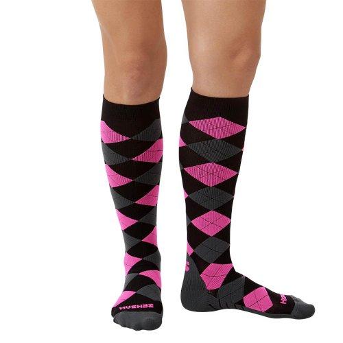 Zensah Argyle Compression Socks