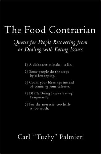 The Food Contrarian: Quotes For People Recovering From or