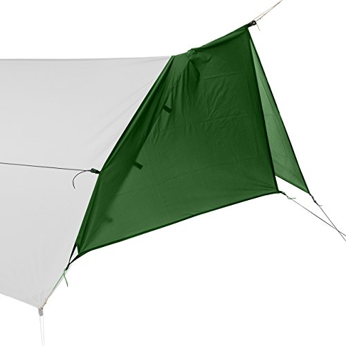 Go Outfitters Tarp Door Kit - for The Apex Hammock Camping Shelter - Forest Green