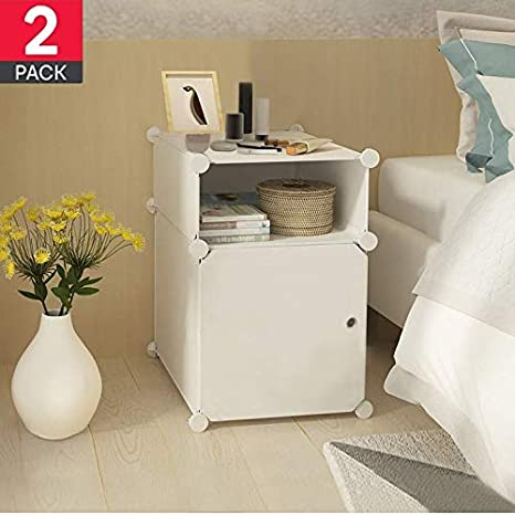 Amazon.com: Bedside Table Night Stand end Tables Side Tables ...