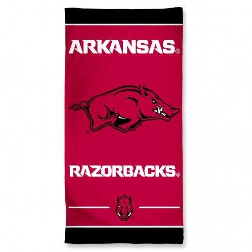 Arkansas Razorbacks 30'' x 60''Beach Towel