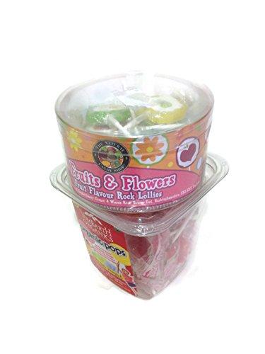 Organic Pops - Bundle- Two Items- Yumearth Organic Pops 5.2oz, and Fruit Flavour Rock Lollies 4.4oz