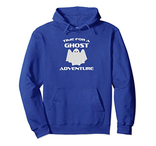 Funny Halloween Time For A Ghost Adventure T-Shirt Fun Gift