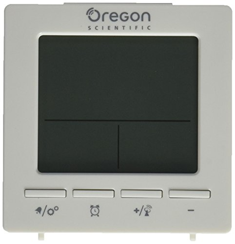 Oregon Scientific RM511A Radio Controlled Alarm Clock (White)