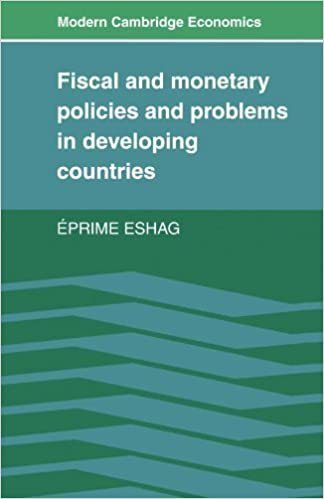 Real book e flat télécharger Fiscal and Monetary Policies and Problems in Developing Countries (Modern Cambridge Economics Series) by Eprime Eshag (1984-02-24) B01A65L6OW ePub