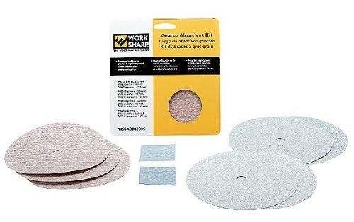 Work Sharp WSSA0002005 Coarse Abrasives Kit for WS2000 & WS3000 Tool Sharpeners
