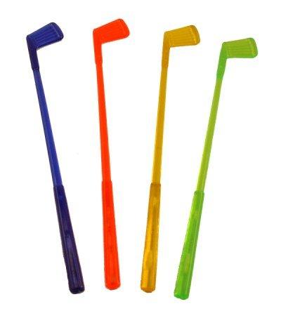16 Golf Club Cocktail Swizzle Sticks -