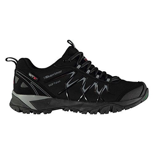 Karrimor Mens Surge Soft Shell WTX Waterproof Walking Shoes Black 8HjejF