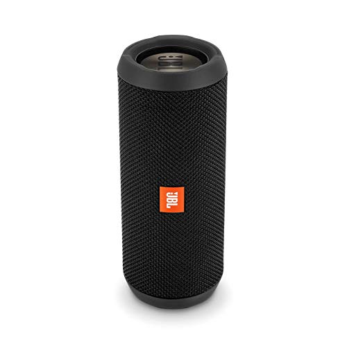 JBL Flip 3 Stealth Waterproof Portable Bluetooth Speaker (Black)