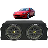 ASC Package Mazda 04-08 RX-8 Coupe Dual 10 Kicker C10 Subwoofer Sub Box Enclosure 600 Watts Peak