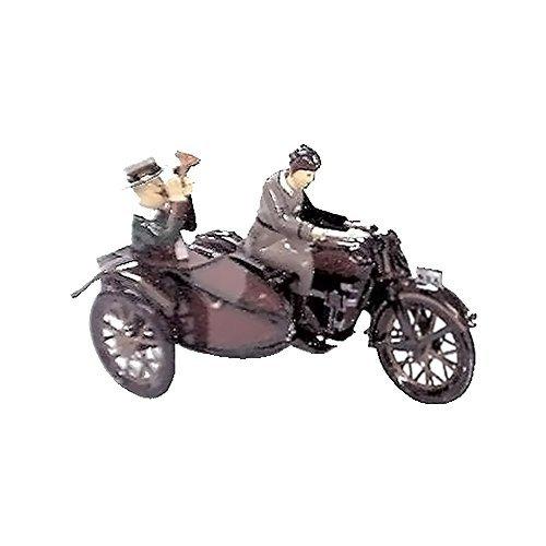 Alexander Taron Importer Tin Wind Up Motorcycle/Sidecar Collectible by Alexander Taron Importer