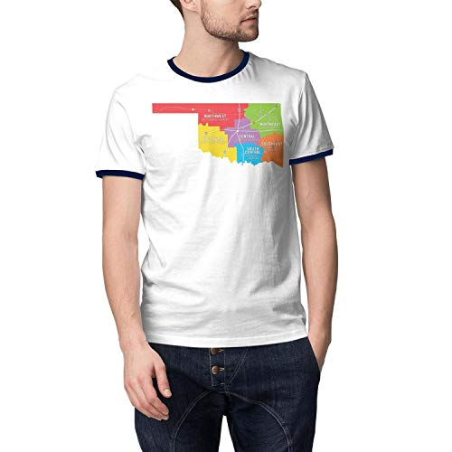 Central Essential T-shirt - Short-Sleeves Men's Fashion Things to Do in Central Oklahoma Essential T Shirt Funny Graphic