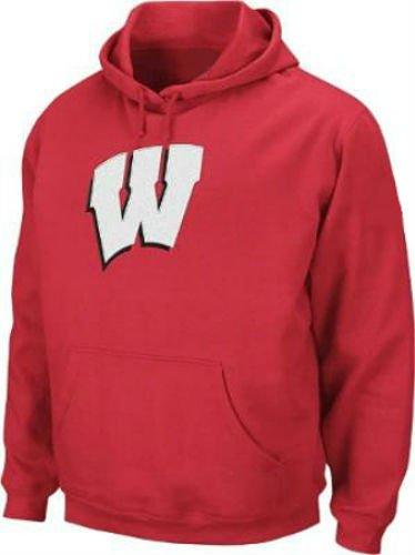 最新作の Wisconsin – Badgers大人用サイズLargeパーカーフード付きNCAA本物プルオーバースウェットシャツ – レッド レッド B015RPYMU6 B015RPYMU6, CROSS CHOP:707edc7b --- a0267596.xsph.ru