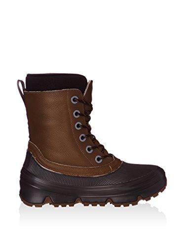 Tecnica 15112200001 Winter Outdoorboots Ledewr braun schwarz, Groesse:47.0