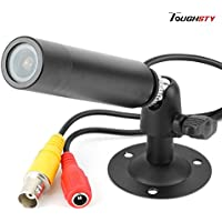 Toughsty™ 420TVL Mini CCTV Camera Indoor Home Bullet Video Security Camera Size 20x76mm