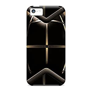 Ourcase88 Fashion Protective In Brown Cases Covers For Iphone 5c