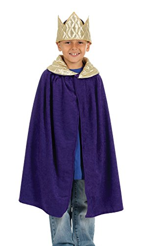 Purple Childrens Nativity King Costume