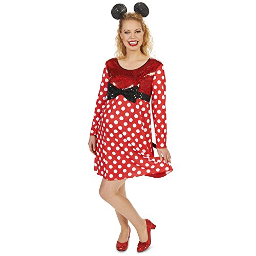 Mommy Mouse Maternity Adult Costume M/L (6-9 Months) - Maternity Costumes