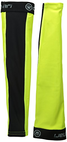 Canari Cyclewear Men's Mixed Weight Arm Warmers, Killer Yellow, Medium - Canari Leg Warmer