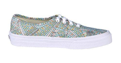 Vans Unisex Authentic Abstract Skate Shoe-Abstract/White-6.5-Women/5-Men dWKZ7