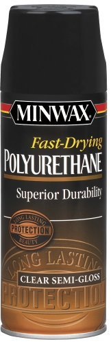 (Minwax 33055 Fast-Drying Polyurethane Aerosol, Semi-Gloss Finish by Minwax)