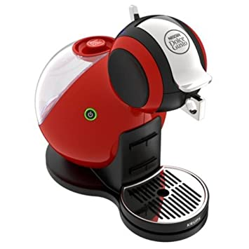Krups Dolce Gusto Melody 3 - Cafetera (Independiente, Totalmente automática, Pod coffee machine, Coffee capsule, Negro, Rojo, Aluminio, Acero ...