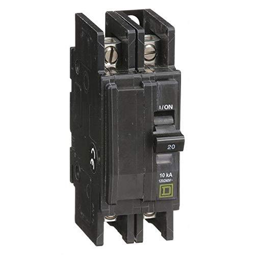 Circuit Breaker 2P 20 Amp 120 240VAC 48VDC