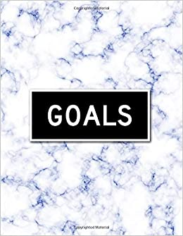 Goals 2019 Full 365 Day Goal Oriented Daily Planner Blue Marble