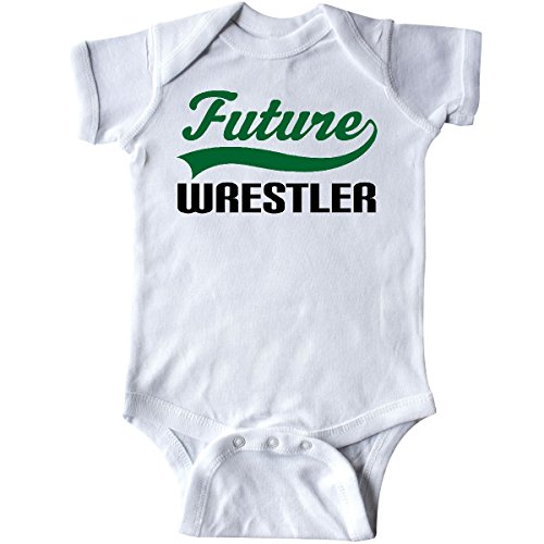 Wrestling A Singlet Make - inktastic - Future Wrestler Infant Creeper 6 Months White 14f35