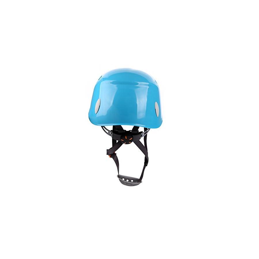 Zowaysoon Adjustable Rock Climbing Helmet Outdoor Helmet for Caving Riding Cycling