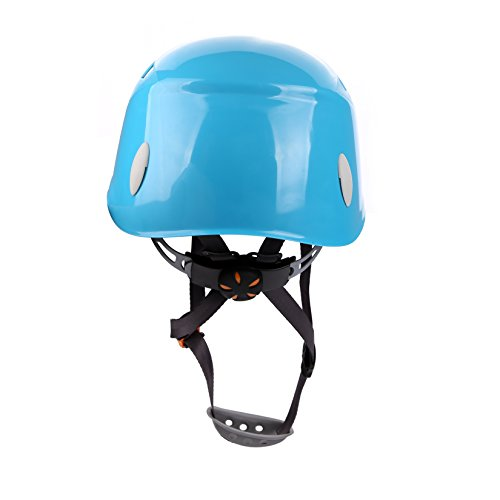 Zowaysoon Adjustable Rock Climbing Helmet Outdoor Helmet for Caving Riding Cycling