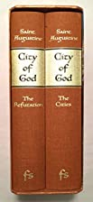 City of God Parts I & II (two volumes) by…