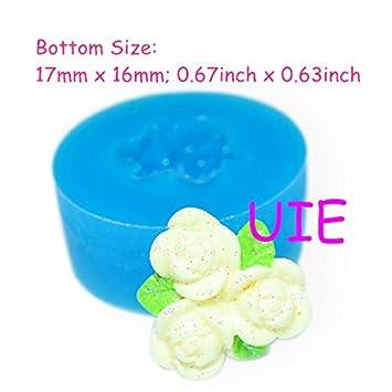 150lbh Mini Blumen Mit Blattern Silikon Form Kuchen Dekorieren