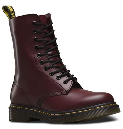 Dr. Marten's 1490 Original, Unisex-Adult Boots, Cherry Red, 6 UK