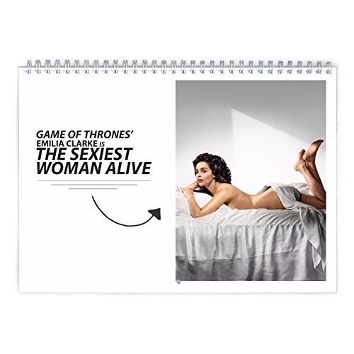 Emilia Clarke   Esquire 2018 Wall Calendar