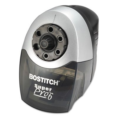 SuperPro 6 Commercial Electric Pencil Sharpener, Gray/Black, Sold as 2 Each